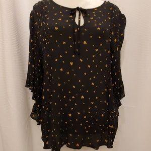 Lauren Conrad  blouse, size XXL. EUC